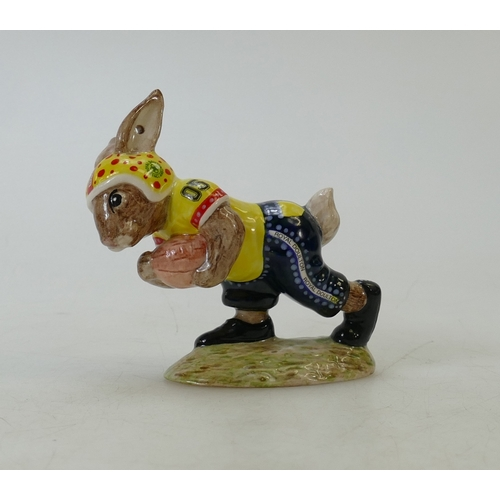 3 - Royal Doulton prototype Bunnykins figure Touchdown: Royal Doulton prototype Bunnykins figure Touchdo...