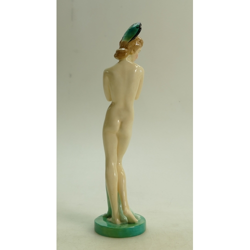 31 - Royal Doulton figure Dawn HN1858: Early model with headdress dated 1938....