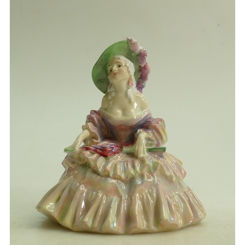 39 - Royal Doulton figure Evelyn HN1637: Dated 1934. (small hairline crack to base)...