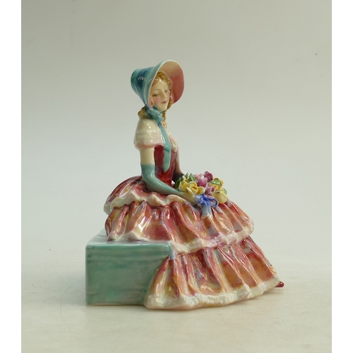 42 - Royal Doulton figure Day Dreams HN1944: In red colourway....