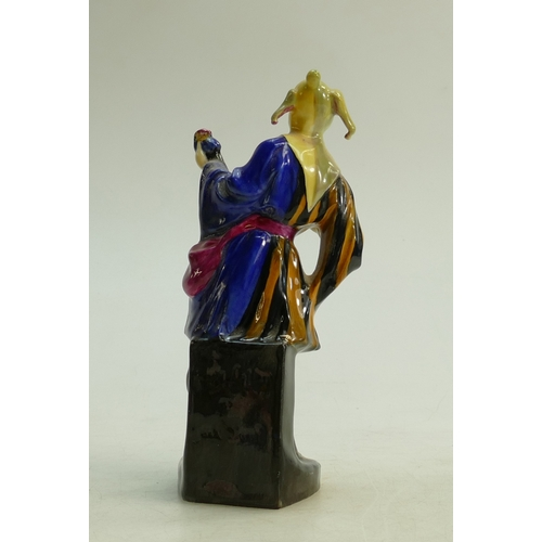 43 - Royal Doulton figure Jack Point HN610 dated 1927: Two small hairline cracks to base...