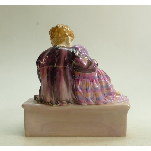 45 - Royal Doulton figure The Flower Sellers Children HN1206: Dated 1935. (hairline crack to base)...