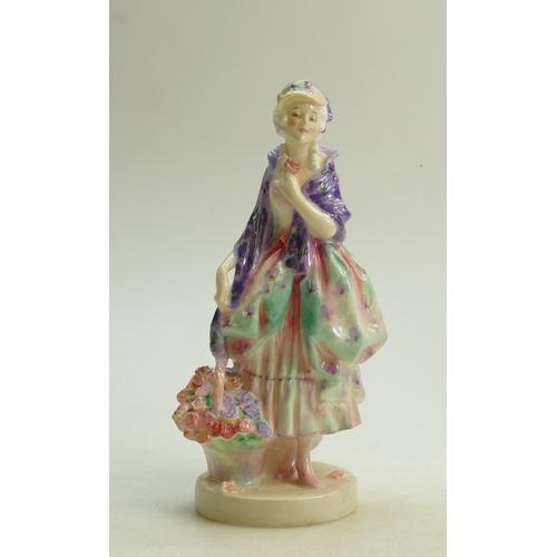 47 - Royal Doulton figure Phyllis HN1420: (hairline cracks to base)...