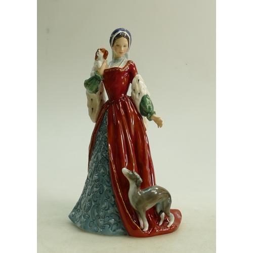 50 - Royal Doulton figure Anne Boleyn HN3232: Limited edition....