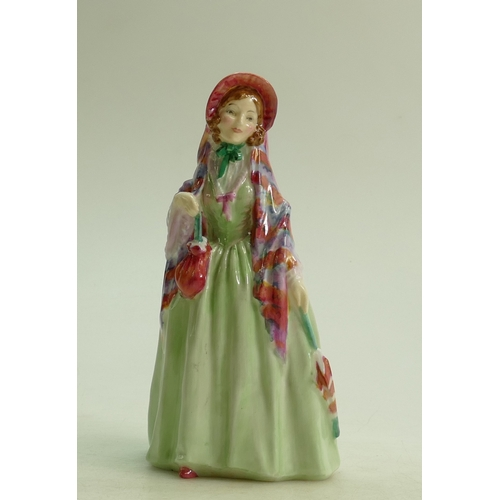 57 - Royal Doulton figure Winsome HN1666: dated 1935....
