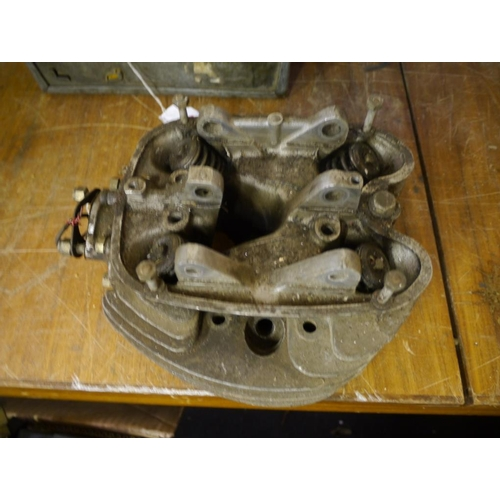 13 - BSA A65 cylinder head...
