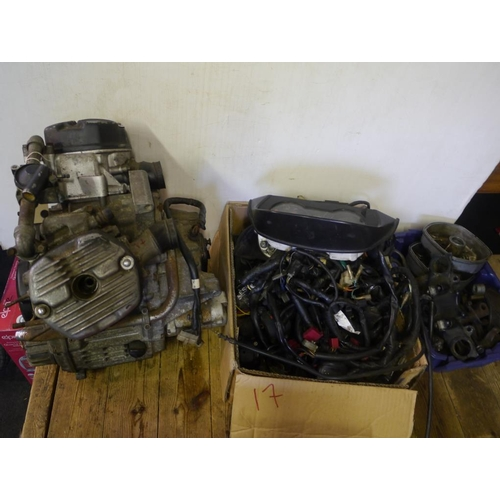 17 - CX500 engine and spares...