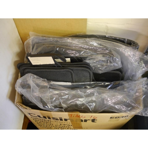 18 - Genuine Nissan car mat sets all with part numbers...