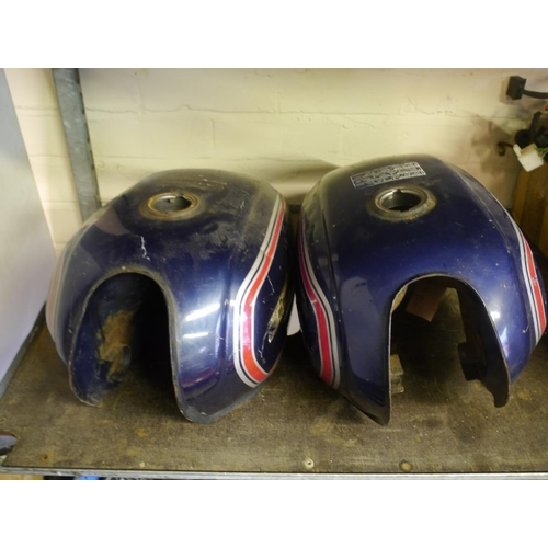 21 - 2 Honda fuel tanks...