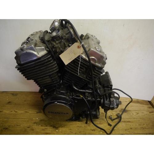 26 - Honda VT500 engine...