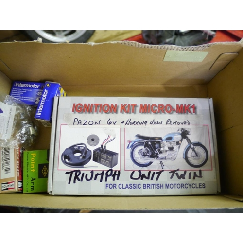4 - Triumph ignition kit...