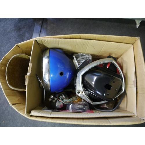 8 - Honda headlamps and spares...