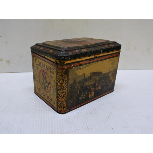 16 - Victorian Colmans mustard tin...