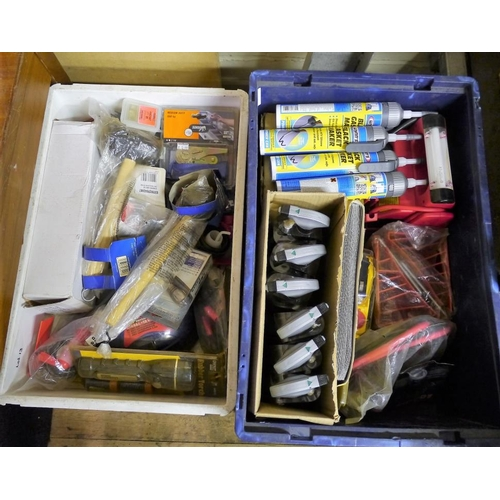 12 - 2 Boxes of mixed tools...