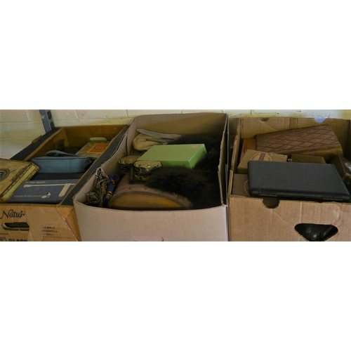 13 - 3 Boxes of miscellaneous...