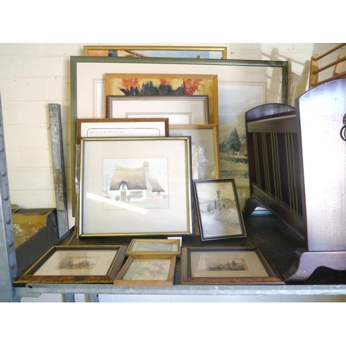 19 - Quantity of framed pictures and prints...