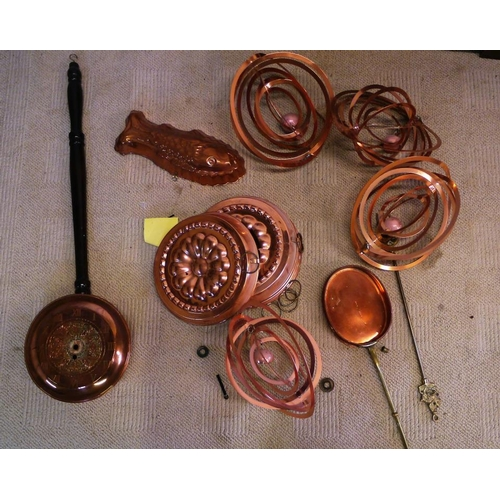 7 - Quantity of copper and brass...