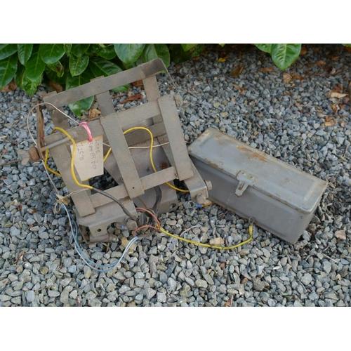 24 - Fergsuon battery box and loom...
