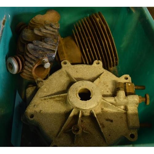 20 - 1928 AJS engine parts...