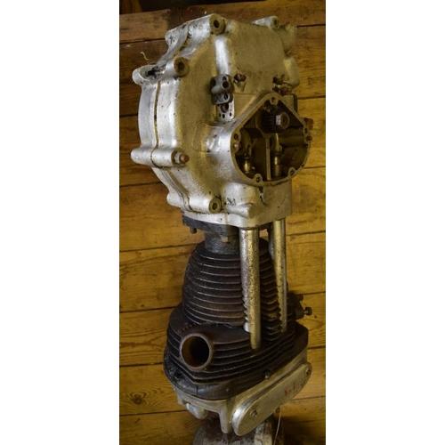 38 - AJS 350 engine...