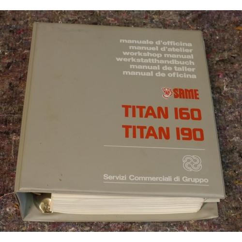 37 - Titan 160 and 190 instruction manual...