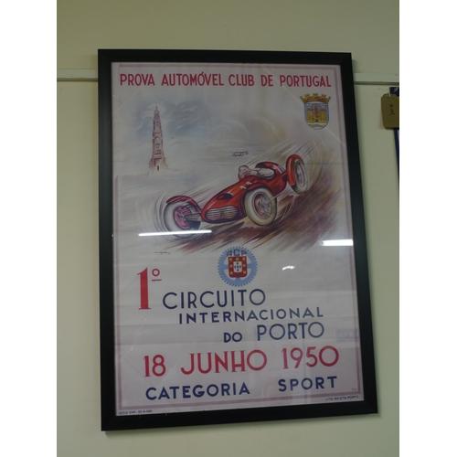 6 - Prova auto movel club de Portugal poster 32x22