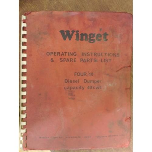 28 - Quantity of operators manuals...