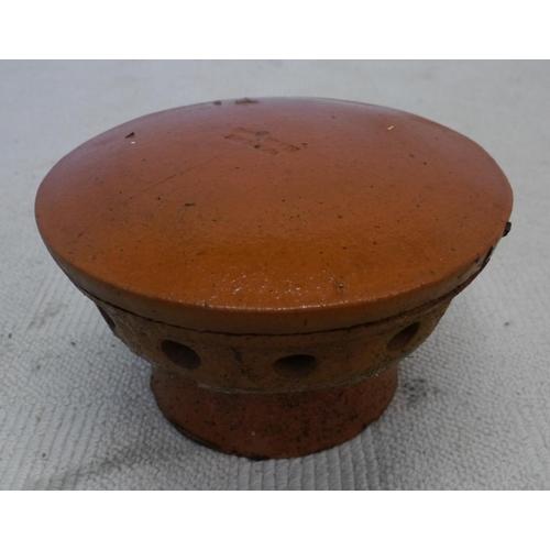 26 - Terracotta chimney cowl...