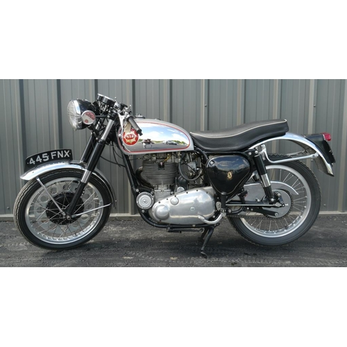547 - BSA Goldstar DBD34 motorcycle. This bike has been with the same owner for approximately 30 years. 19...