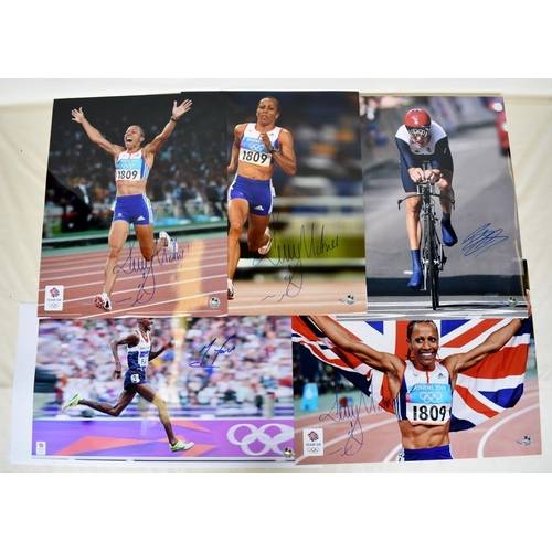 13 - Collection of Limited Edition signed photographs including Kelly Holmes, Bradley Wiggins, Mo Farah...