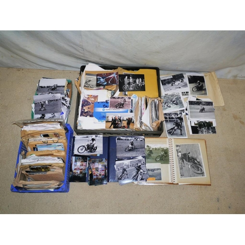1 - Large quantity of grasstrack and speedway photos dating to the 1950s...