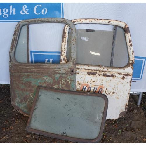 36 - Bedford K type doors and window...