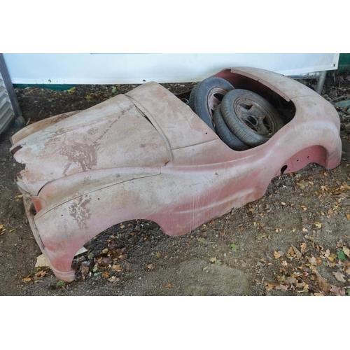 37 - Austin A40 pedal car parts for restoration...