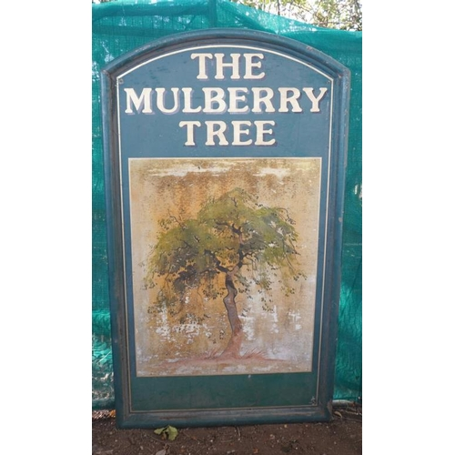 52 - Pub sign- Mulberry Tree...