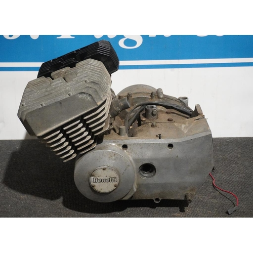 20 - Benelli ZIP believed 125cc twin engine...