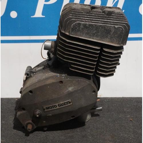 22 - Moto Guzzi 125cc engine...