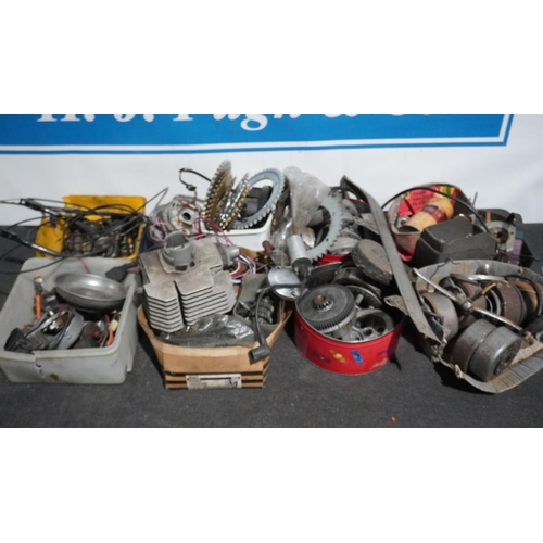 30 - Large quantity of assorted Italian motorcycle spares...