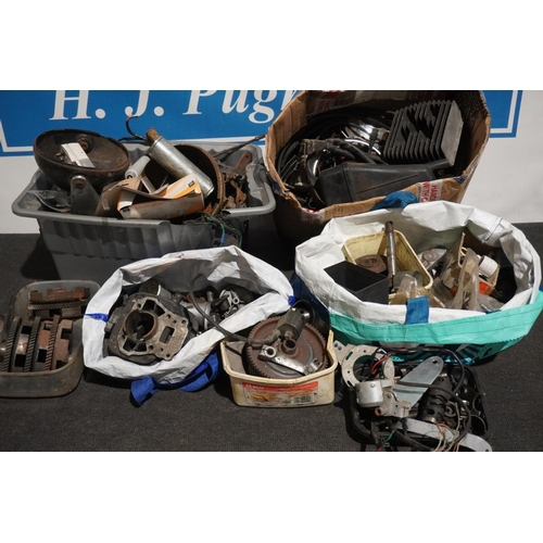 31 - Large quantity of assorted Italian motorcycle spares...