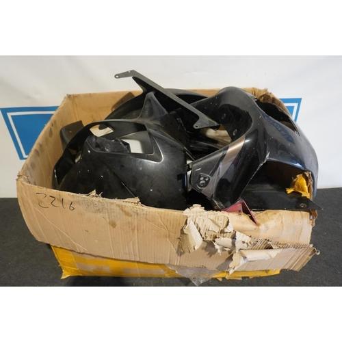 37 - Honda VTR1000, VFR & CBR fairings...
