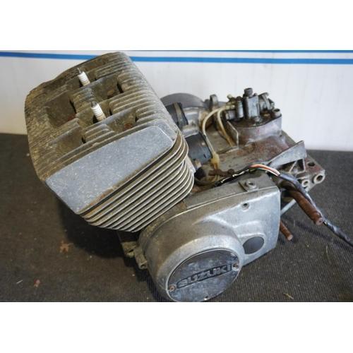 4 - Suzuki GT250 engine...