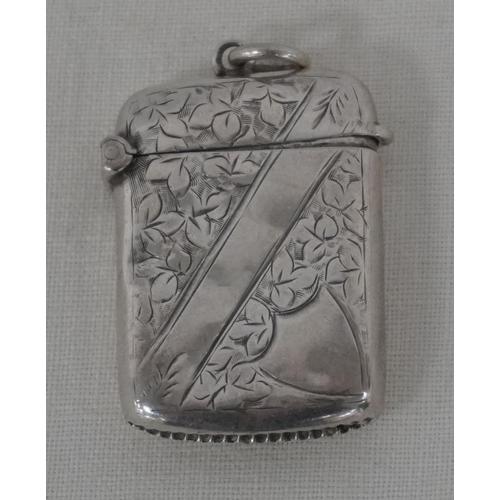 12 - Silver tinder box...