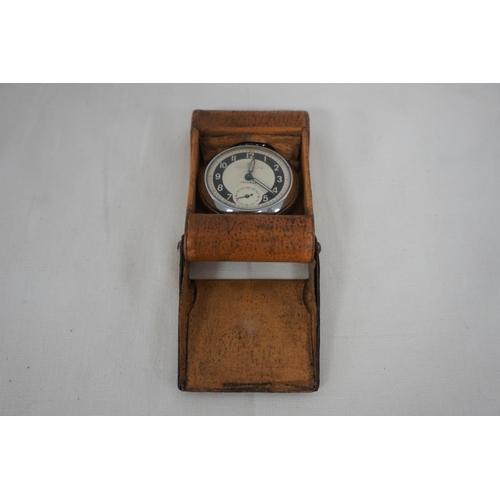 18 - Ingersol Triumph pocket watch in case...