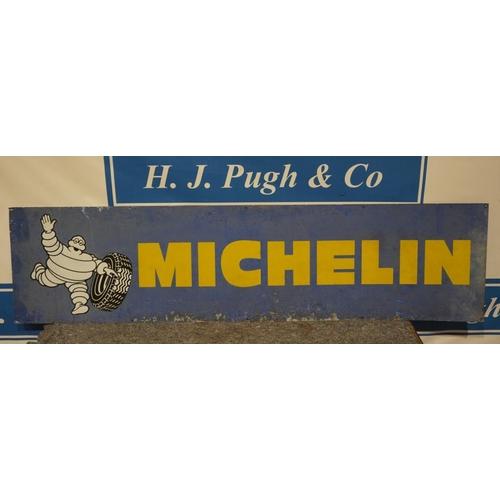 29 - Michelin tin sign 78 1/2 x 19 1/2