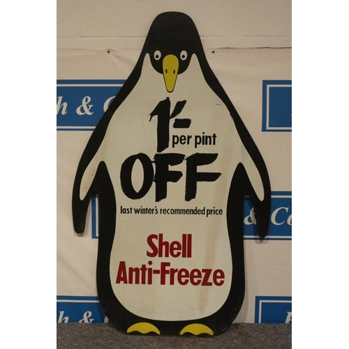 39 - Shell anti freeze chipboard sign 67