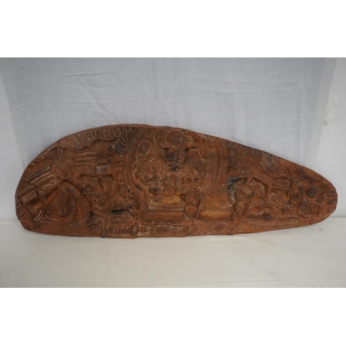 46 - Indonesian hand carving...