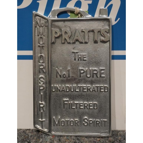 5 - Reproduction cast alloy sign