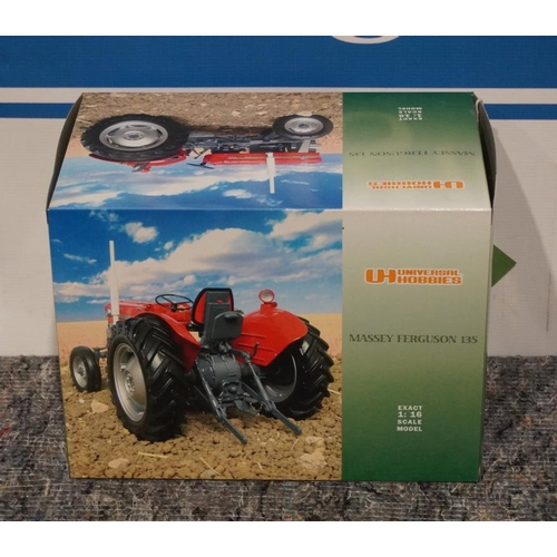 56 - Universal Hobbies model 1-16 scale Massey Ferguson 135...
