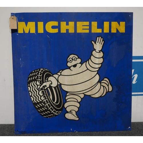 11 - Tin sign- Michelin man 29x29