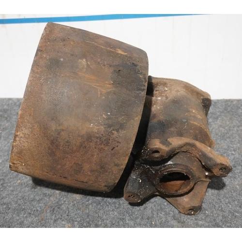 53 - Ferguson belt pulley...