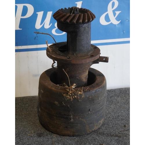 54 - Fordson belt pulley...